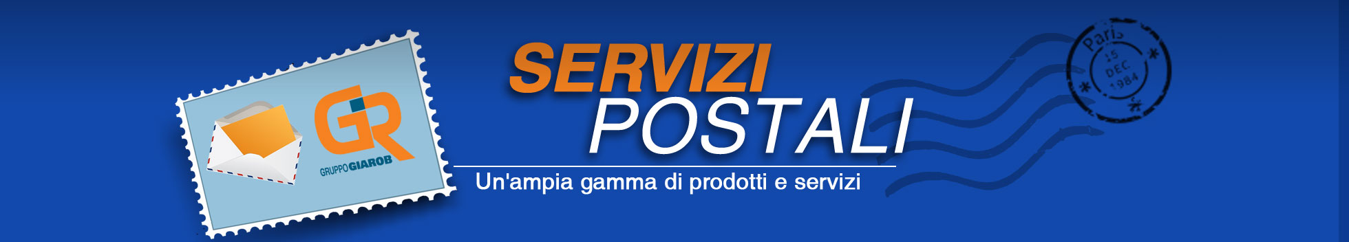 Gruppo Poste Giarob - Servizi postali
