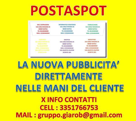 Gruppo Poste Giarob - Servizio Corriere e Point